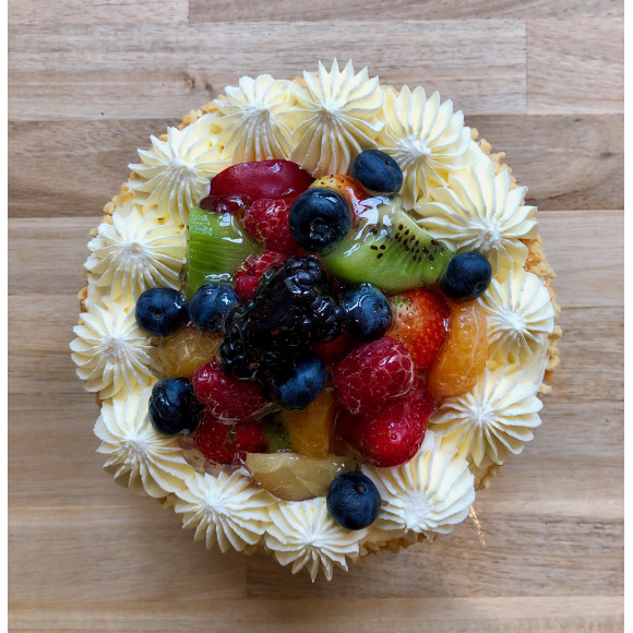 Mixed Fruits 6 Inch Cake