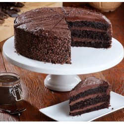Vegan Belgian Chocolate Cake