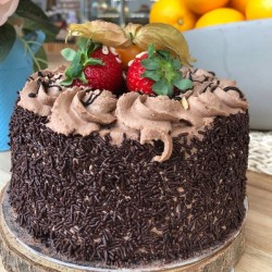 Dark Chocolate  6 inch Cake