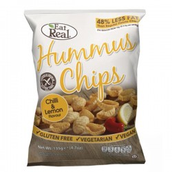 Eat Real Hummus Chips - Chilli & Lemon Flavour