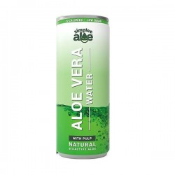 Simplee Aloe Can- Aloe  Vera Water With Pulp