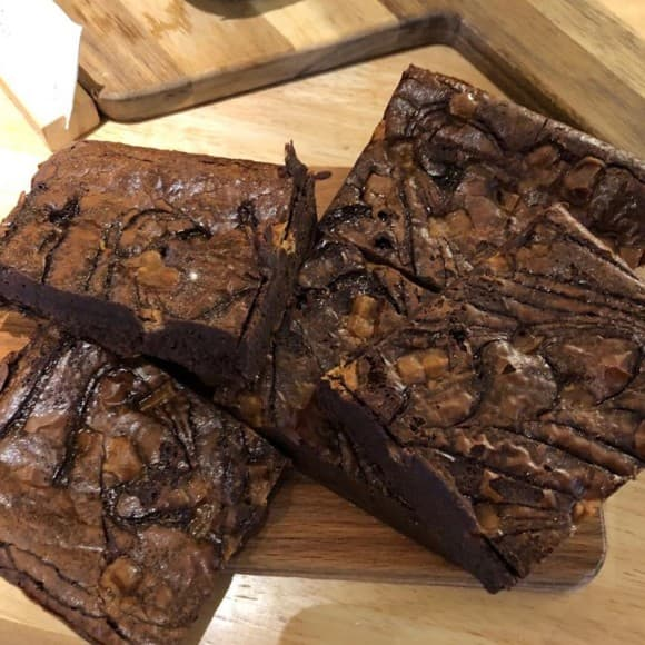 Chocolate & Caramel Brownie